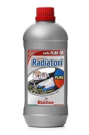 Líquido para radiadores coche puro 1 litro