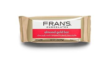Amazoncom Frans Gold Bar With Almonds 16 Oz Grocery