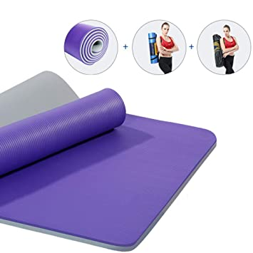 KEYINUO Colchoneta de Yoga Profesional Antideslizante TPE ...