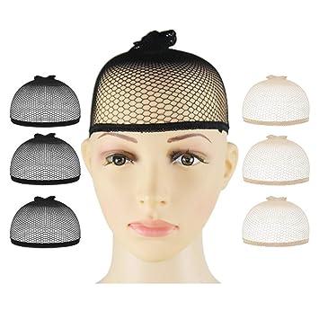 G-zebra 6 Pack Wig Caps for Women Elastic