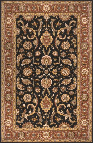 Momeni Rugs PERGAPG-07SAL2680 Persian Garden Collection, 100% New Zealand Wool Traditional Area Rug, 2'6
