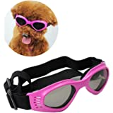 pet leso dog goggles stylish doggie puppy sunglasses windproof protection doggles pink