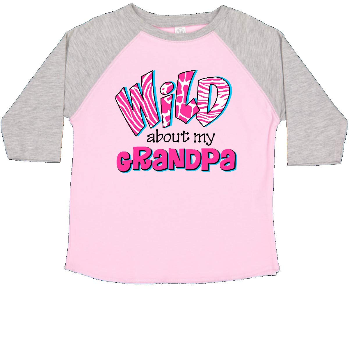 inktastic Wild About Grandpa Toddler T-Shirt