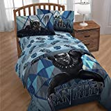 Marvel Black Panther Movie Kids Twin Sheet Set