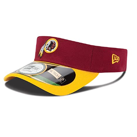 Amazon.com   Washington Redskins Red New Era On Field Visor Hat Cap ... ecb6ce3d5e8