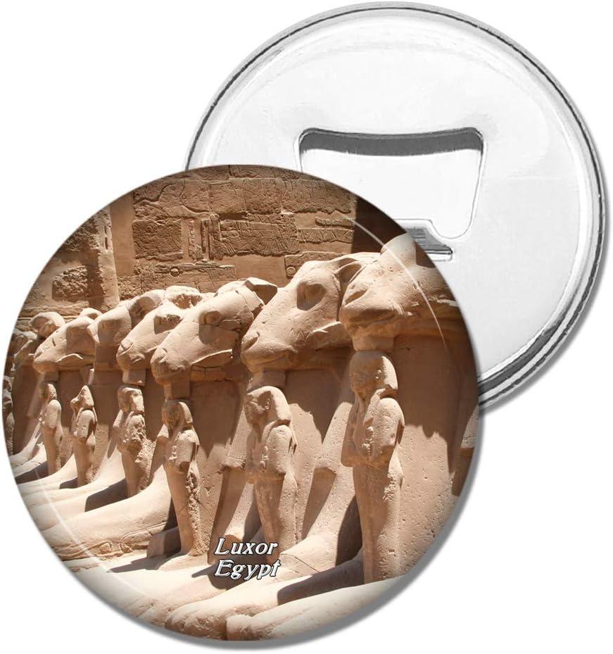 Weekino Refrigerator Magnets Egypt Temple of Karnak Luxor Bottle Opener Beer Magnet Travel Souvenir Collection Gift