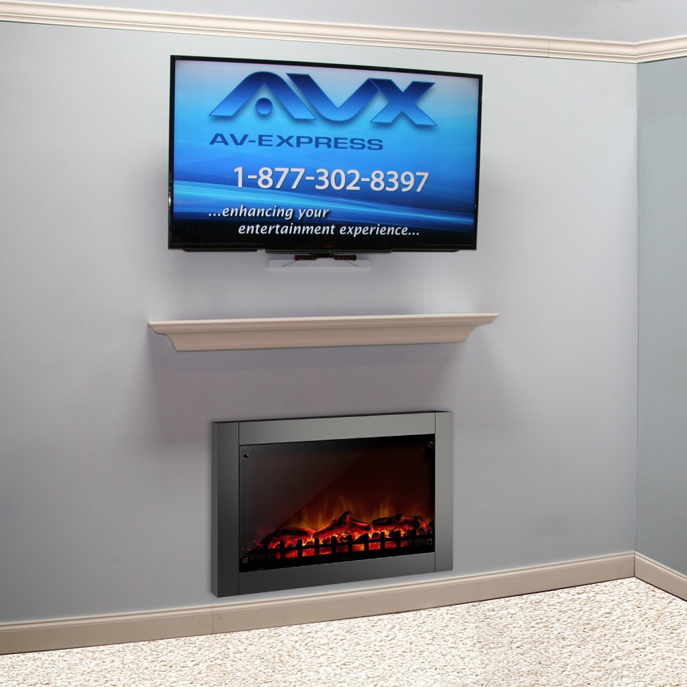 amazon com pull down tv mount for fireplace aeon 50300 home