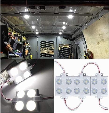 LED Lights Touch On//Off 12 Pack Complete Set Boat Caravan Camper Conversion