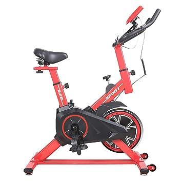 Lcyy-Bike Entrenadores De Bicicleta Resistencia Magnética 5 Kg Volante Cardio Workout con Pantalla Multifuncional