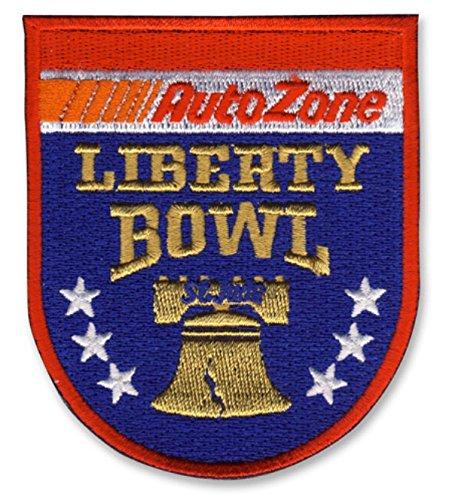 Auto Zone Liberty Bowl Game Jersey Patch Georgia Vs TCU 2016 (Ohio State Buckeyes Vs Alabama Crimson Tide)