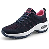 RCTO Women Sports Shoes Air Sole Running Shoes Breathable Woman Sneakers Outdoor Walking Jogging Trainers Flying Weaving Leisure Shoe