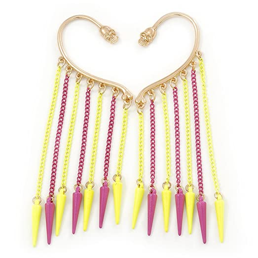dot neon earrings products pink this popsicle stud claudia made