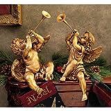 Design Toscano Christmas Decorations-Trumpeting Boy