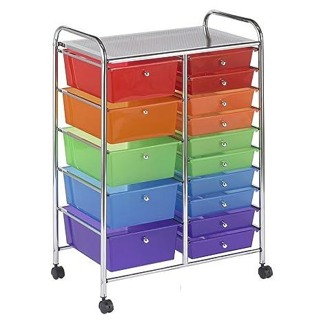 Amazon.com: BS - Organizador de almacenamiento de plástico ...
