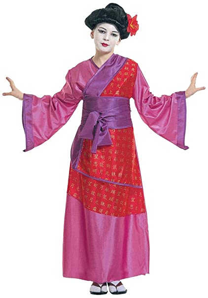 WIDMANN Sancto Disfraz de Chino Oriental para Mujer, Talla 10 años (38717)