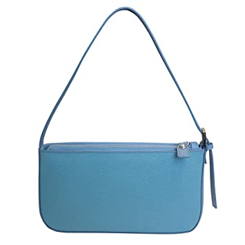 0ce2d052ca Nicoli 'Eleganza' designer sac en cuir italien petite bandoulière - bleu