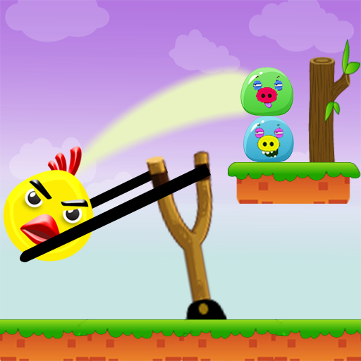 Knock Down : Angry Chicken (Apps Ticket To Ride)