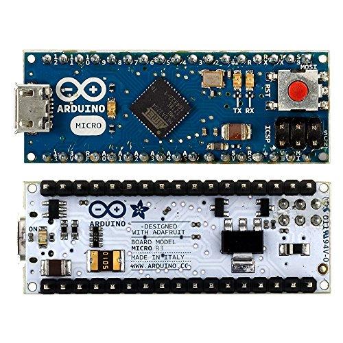 Gowoops Micro Board for Arduino, Leonardo Mini Controller 5V 16 MHz ATmega32u4 Module