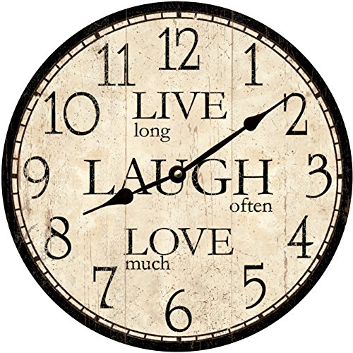 Live Laugh Love Clock - Live Laugh Love home decor
