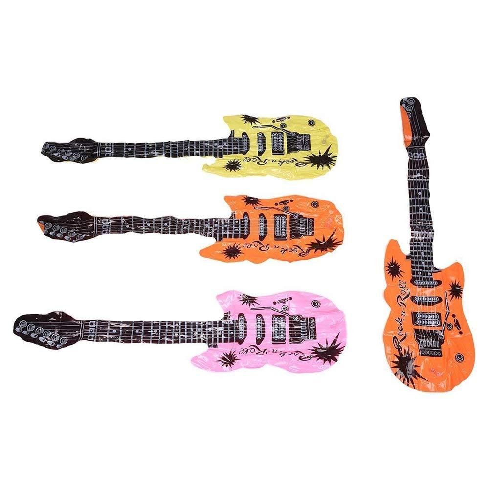 Ogquaton Guitarra Inflable PVC Air Guitar Guitarra Inflable ...