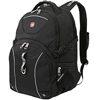 SWISSGEAR 3258 College Business Travel Everyday Men s and Women s  Effortless Backpack Black 5f396893a5ac9