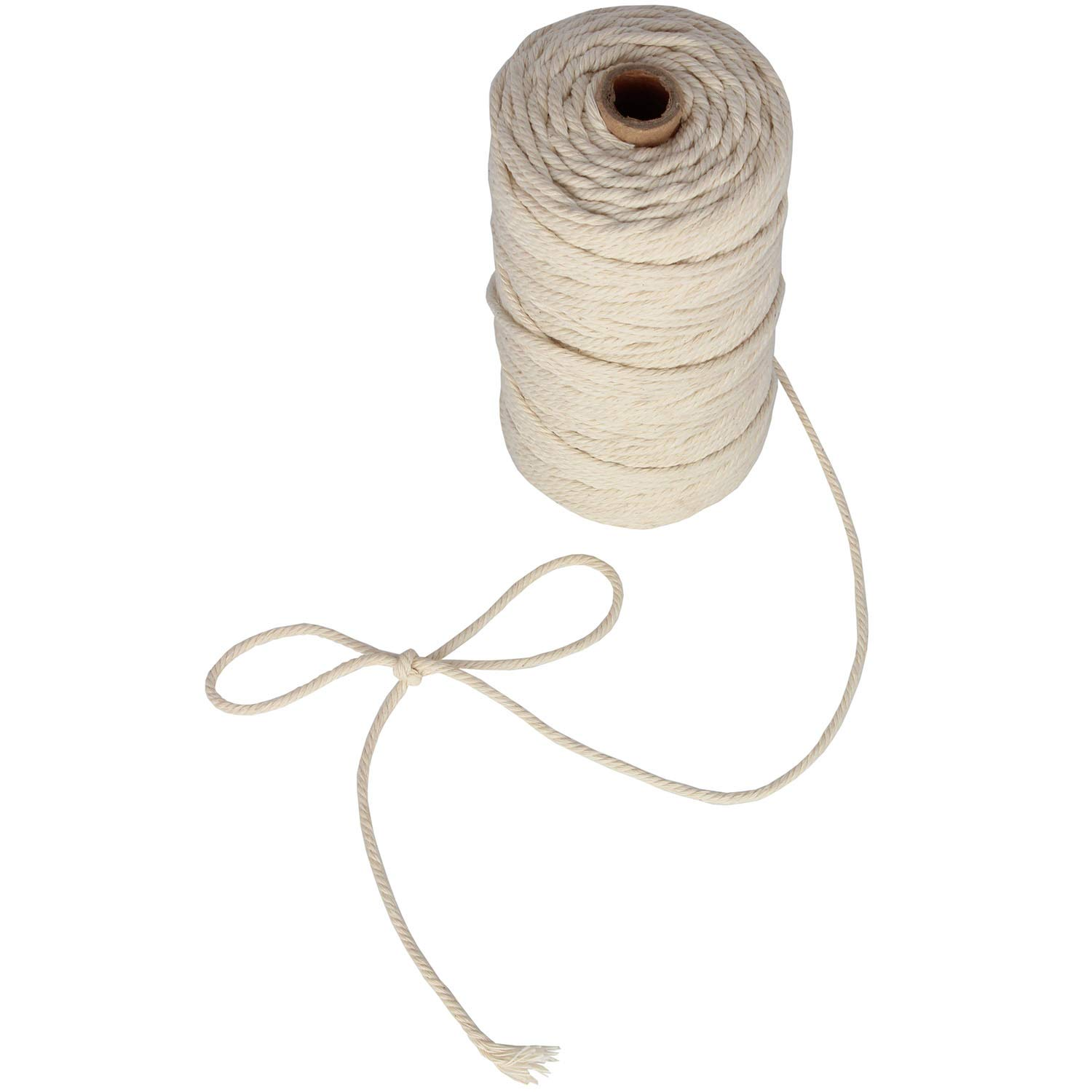 164feet 3mm Cotton Bakers Twine Food Safe Cooking String for Tying Meat Making Sausage SAN RONG