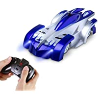 AMERTEER Remote Control Car,Electric Toy RC Cars on the Wall, Dual Mode 360°Rotating Stunt Rechargeable High Speed Race…