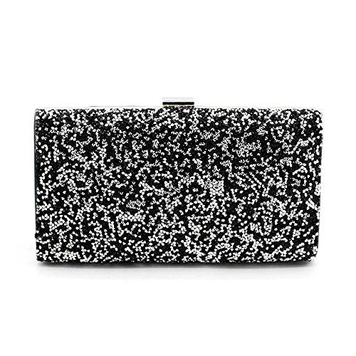 Party Shinny Bag Dark Evening Clutches Body Purse Cross Rhinestone Grey Nodykka Embellished Handbags pS5wSY