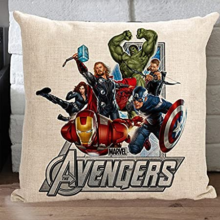 Avengers Pillow Covers Sofa Chair