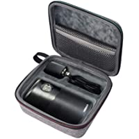 Esimen Hard Case for Nebula Capsule II/Nebula Capsule Max Smart Mini Projector by Anker and Remote Control USB Flash Drive Accessories Carry Bag Protective Storage Box
