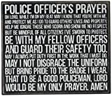 Primitives by Kathy Police Officer's Prayer Box Sign Review