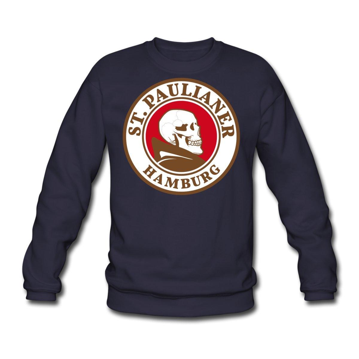 Spreadshirt St. Paulianer Totenkopf Mönch Männer Pullover S205909-A19540285-1