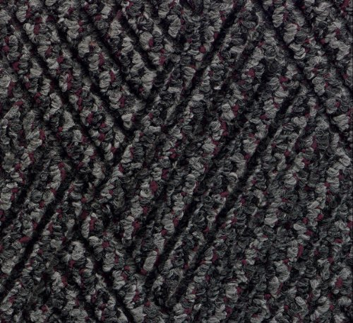 Waterhog Diamondcord Mat - Andersen 296 Waterhog DiamondCord Polypropylene Fiber Interior/Scraper Wiper Floor Mat, SBR Rubber Backing, 3' Length x 2' Width, 3/8