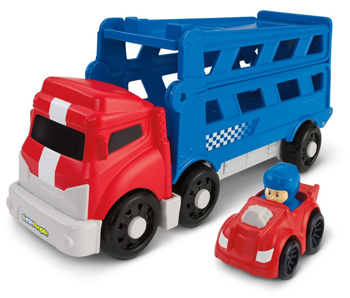 Fisher – Price Little People Wheelies Sports Car Carrier (bgc65)