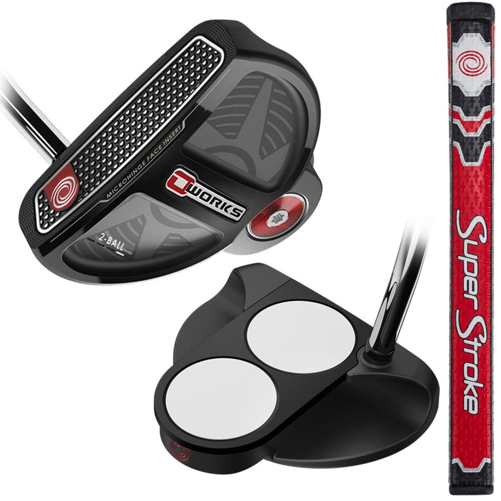 Callaway Golf Odyssey Works 17スチール2ボールWinnグリップ33 '長パター、Left Hand