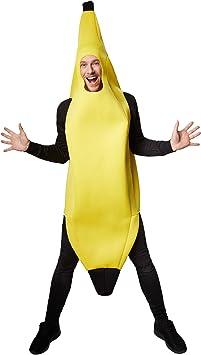 TecTake dressforfun Disfraz de plátano Unisexo | Parte Superior ...