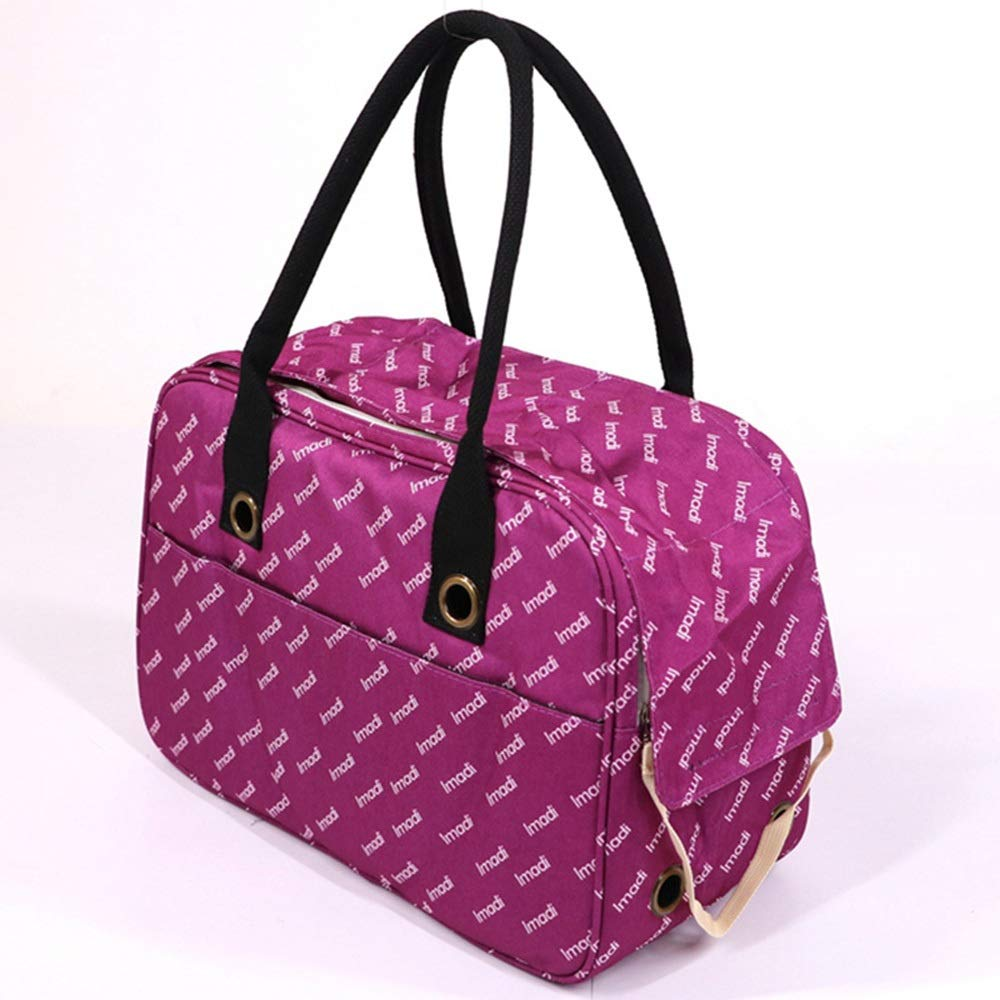 Black 401826CMHYUE Dog Out Portable Backpack Cat Bag AntiSqueezing Handbag Pet Bag Portable Travel pet Bag (color   Green, Size   40  18  26CM)