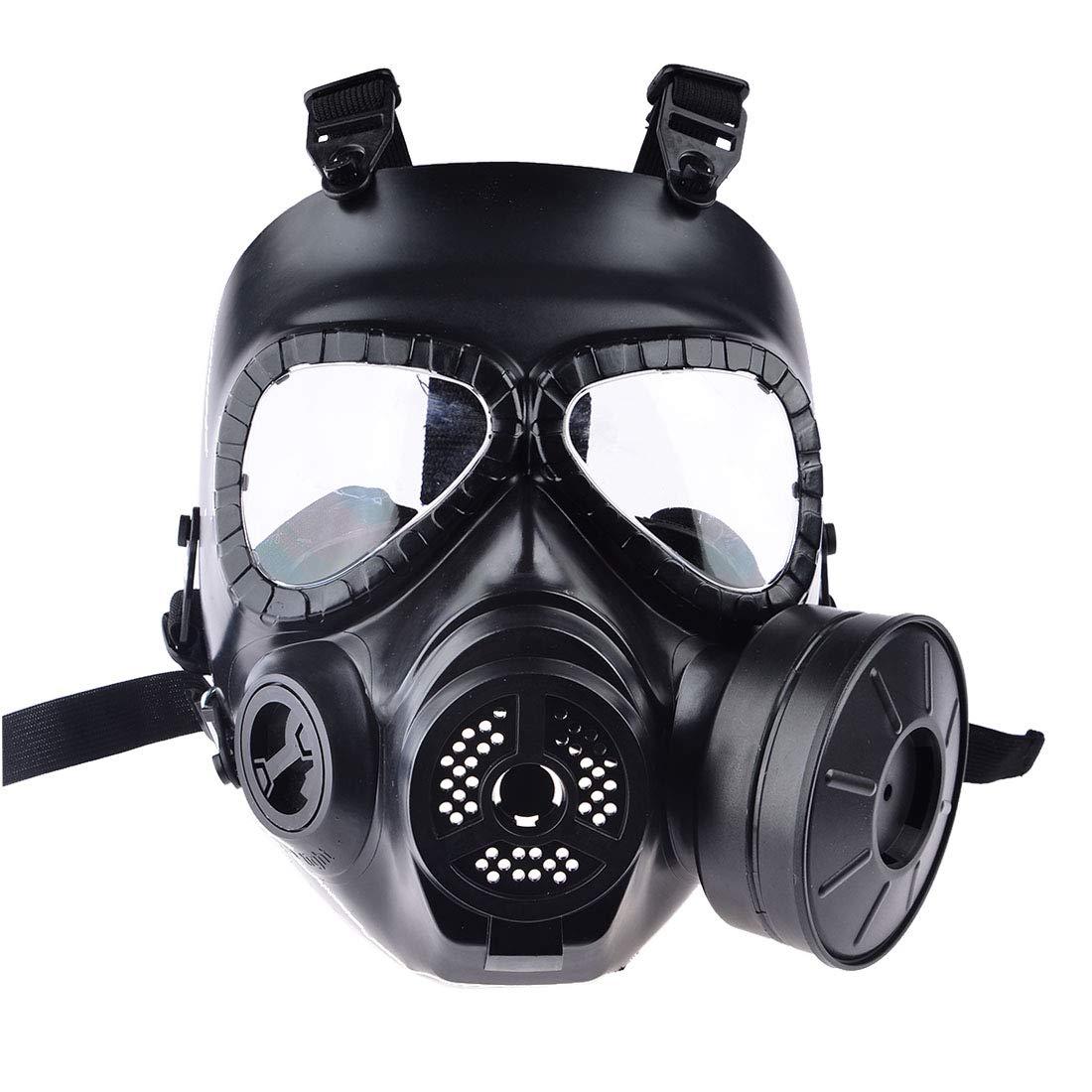 Giplar Masque Facial Tactique à gaz antibuée M04 Masque de Protection Visage Complet Masque respiratoire