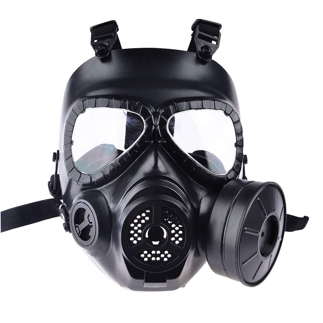 PeleusTech® WST Head Mask Full Face Single Canister Electric Ventilative Biochemical Gas Mask Toys Masks for Children, Cosplay,Halloween and Party - No Actual Anti-Virus Function