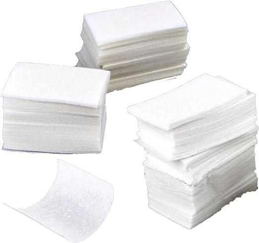 Fangfeen 400 Piezas Nail Art toallitas de algodón Gel de acrílico inclina el removedor de uñas Arte Remover Wipes: Amazon.es: Hogar