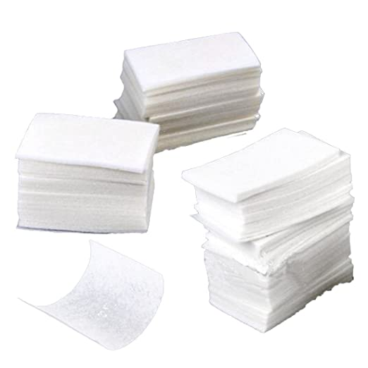 Fangfeen 400 Piezas Nail Art toallitas de algodón Gel de acrílico ...
