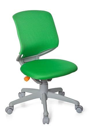 Kinderschreibtischstuhl grün  hjh OFFICE Kinderschreibtischstuhl / Kinderstuhl KID MOVE GREY ...