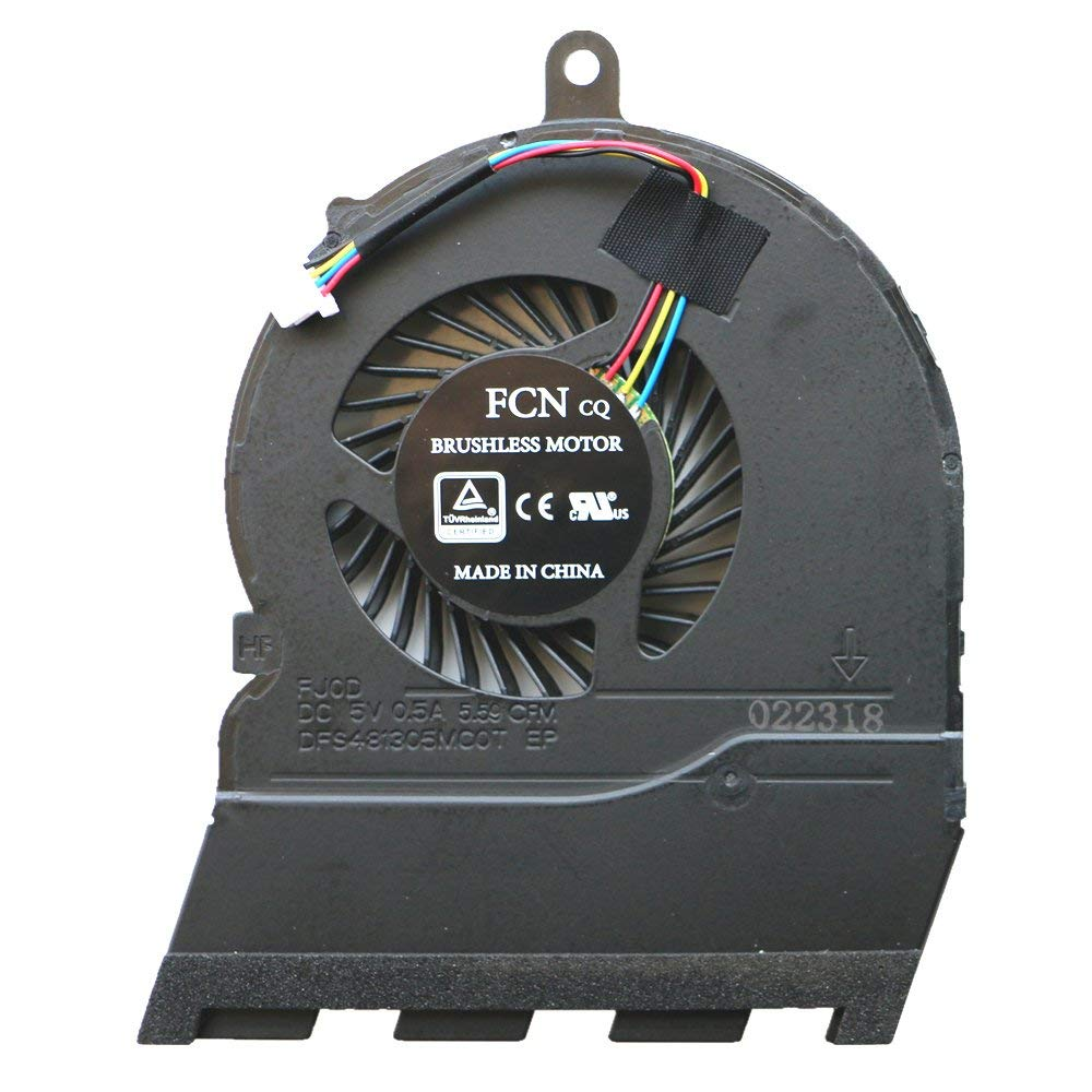 Cooler para Dell inspiron 15G 5565 5567 17-5767 Fan