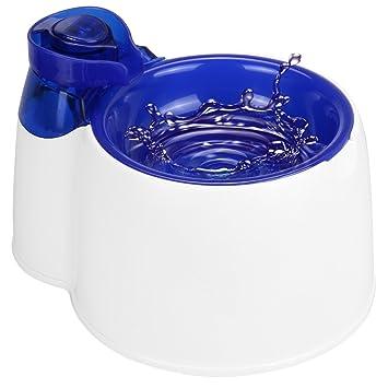 Fuente de agua automática para mascotas MW, Fuente de agua filtrada eléctrica sin BPA con