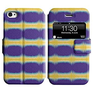 LEOCASE Funda Carcasa Cuero Tapa Case Para Apple iPhone 4 / 4S No.1007630