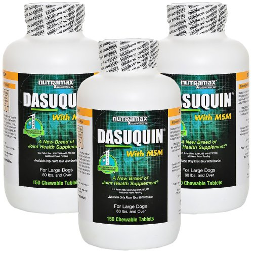 3PACK Dasuquin Large Dogs Chewable