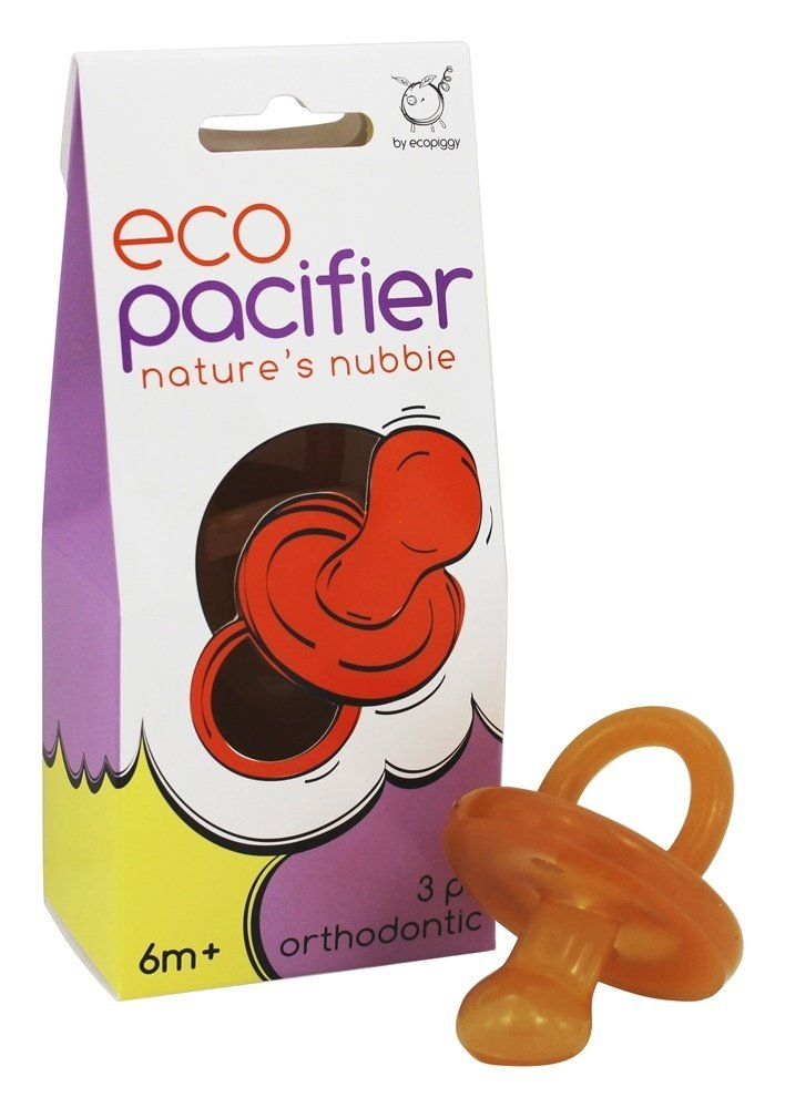 Size 0-6 Months Set of 3 Orthodontic Natural Rubber Pacifier