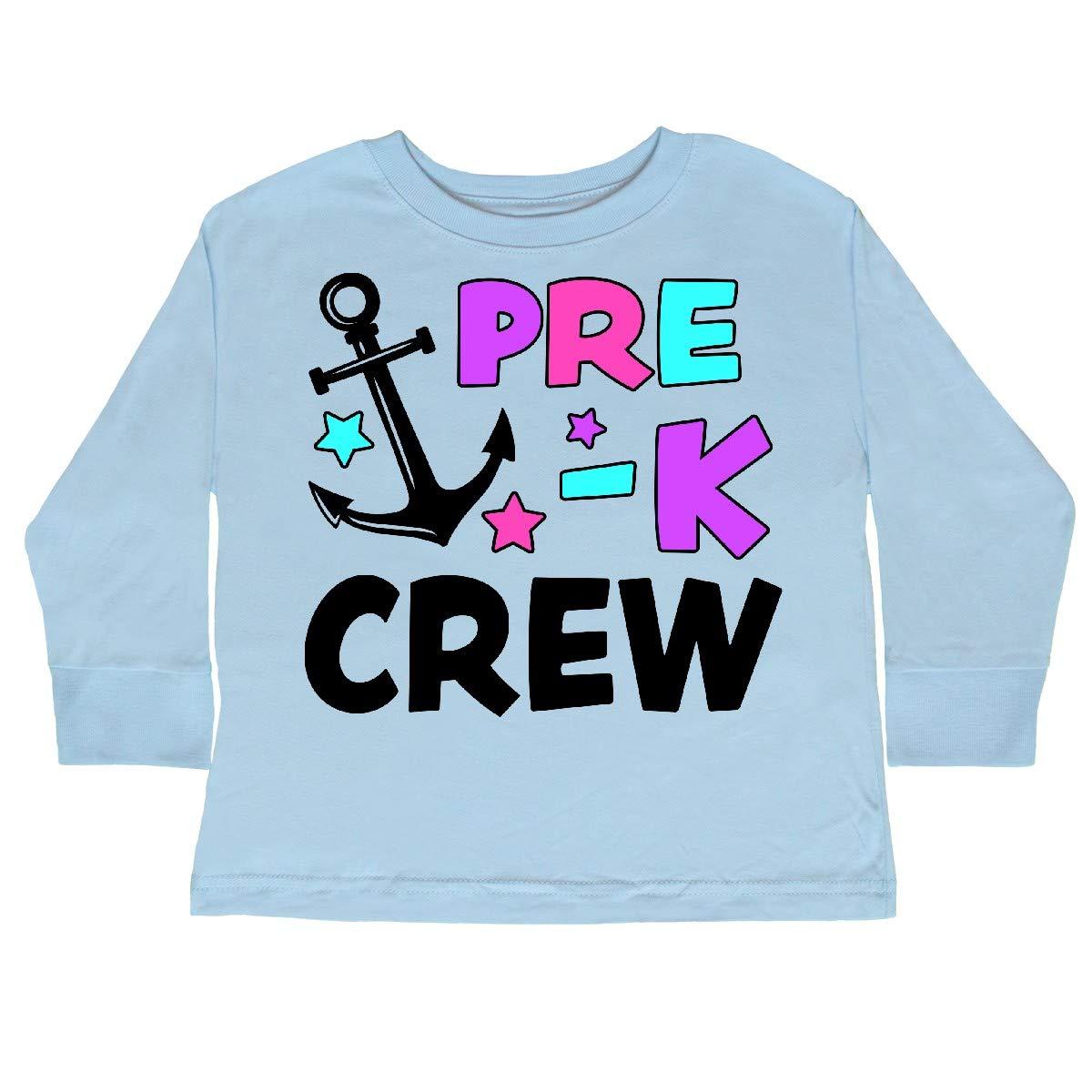 inktastic Pre-K Crew Toddler Long Sleeve T-Shirt