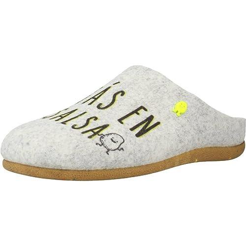 Zapatillas de estar por casa de mujer, color gris , marca GIOSEPPO, modelo Zapatillas De Estar Por Casa De Mujer GIOSEPPO 41414G Gris: Amazon.es: Zapatos y ...