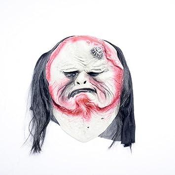 MIANJU Máscara de Fantasma de Halloween Máscara de Fantasma Máscara de Goma de Látex Máscara de